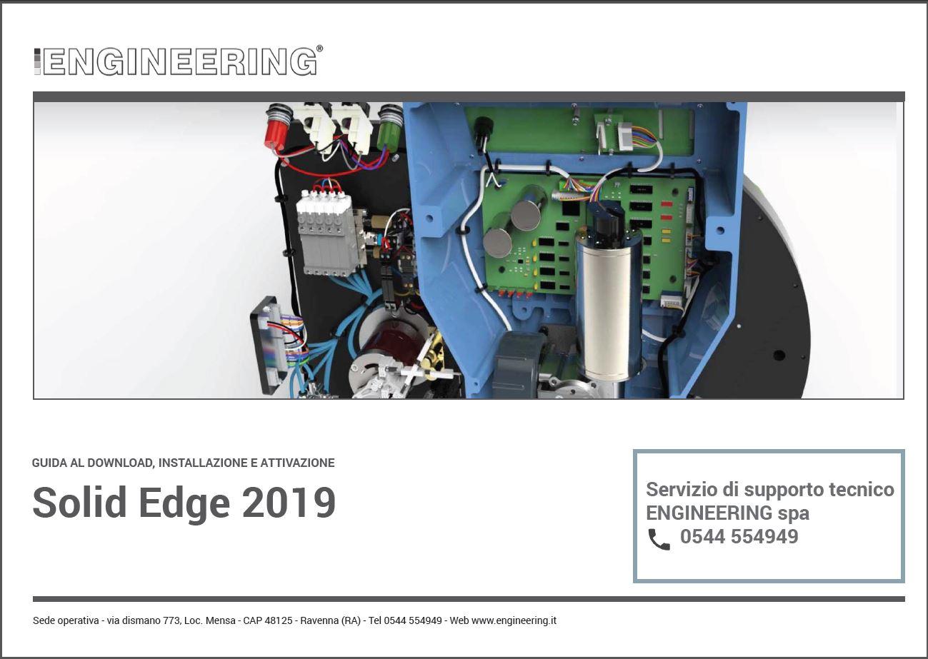 GUIDA_INSTALLAZIONE SOLID EDGE 2019_ENGINEERING