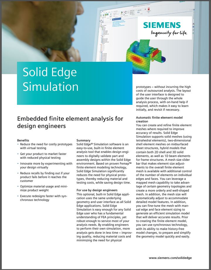 SolidEdge Simulation