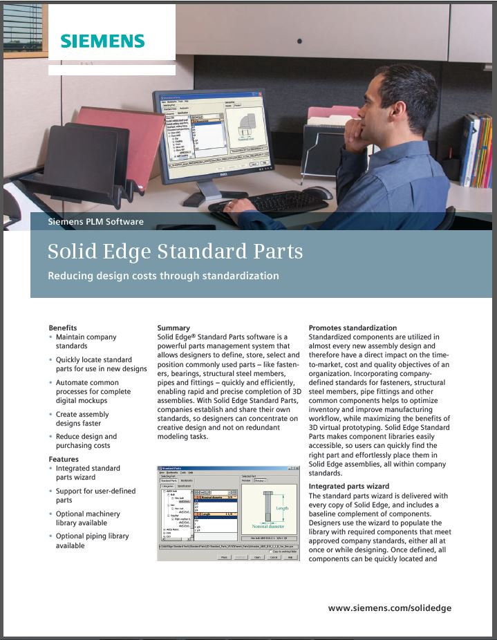SolidEdge Standard Parts