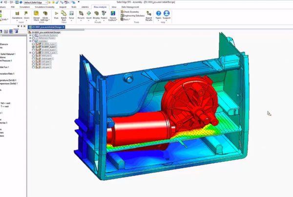 Analisi Fluidodinamica Computazionale con Solid Edge