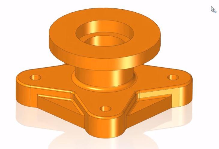 Solid Edge | Video Multi CAD Modifica di dati importati 3D in Solid Edge