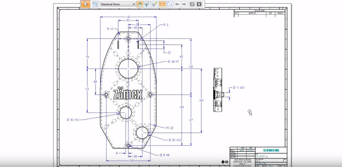 Solid Edge | Video Gestione dei disegni 2D