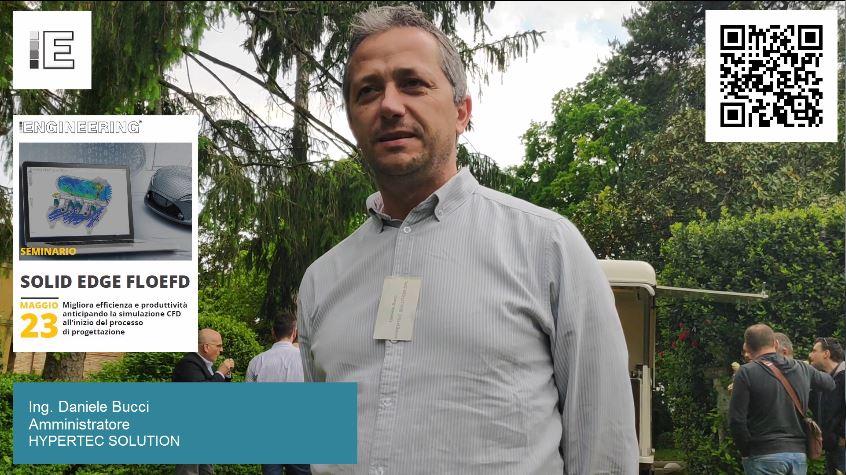 Seminario Solid Edge FloEFD | Intervista a Daniele Bucci | Amministratore di HYPERTEC SOLUTION