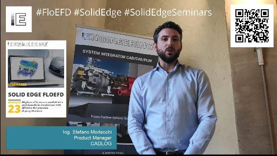 Intervista Stefano Morlacchi - Solid Edge FloEFD