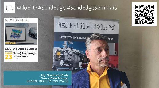 Intervista a Giampaolo Prada Seminario Solid Edge FloEFD