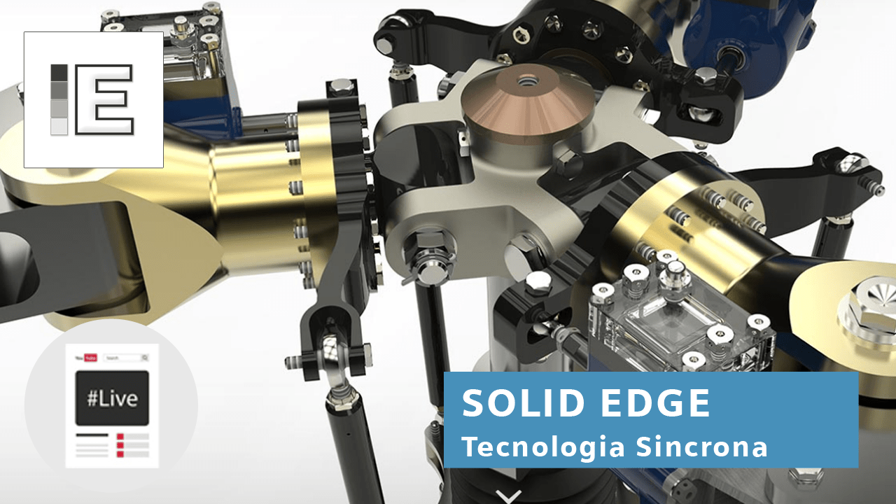 Webinar on demand |  Solid Edge 2020 Tecnologia Sincrona [by ENGINEERING]