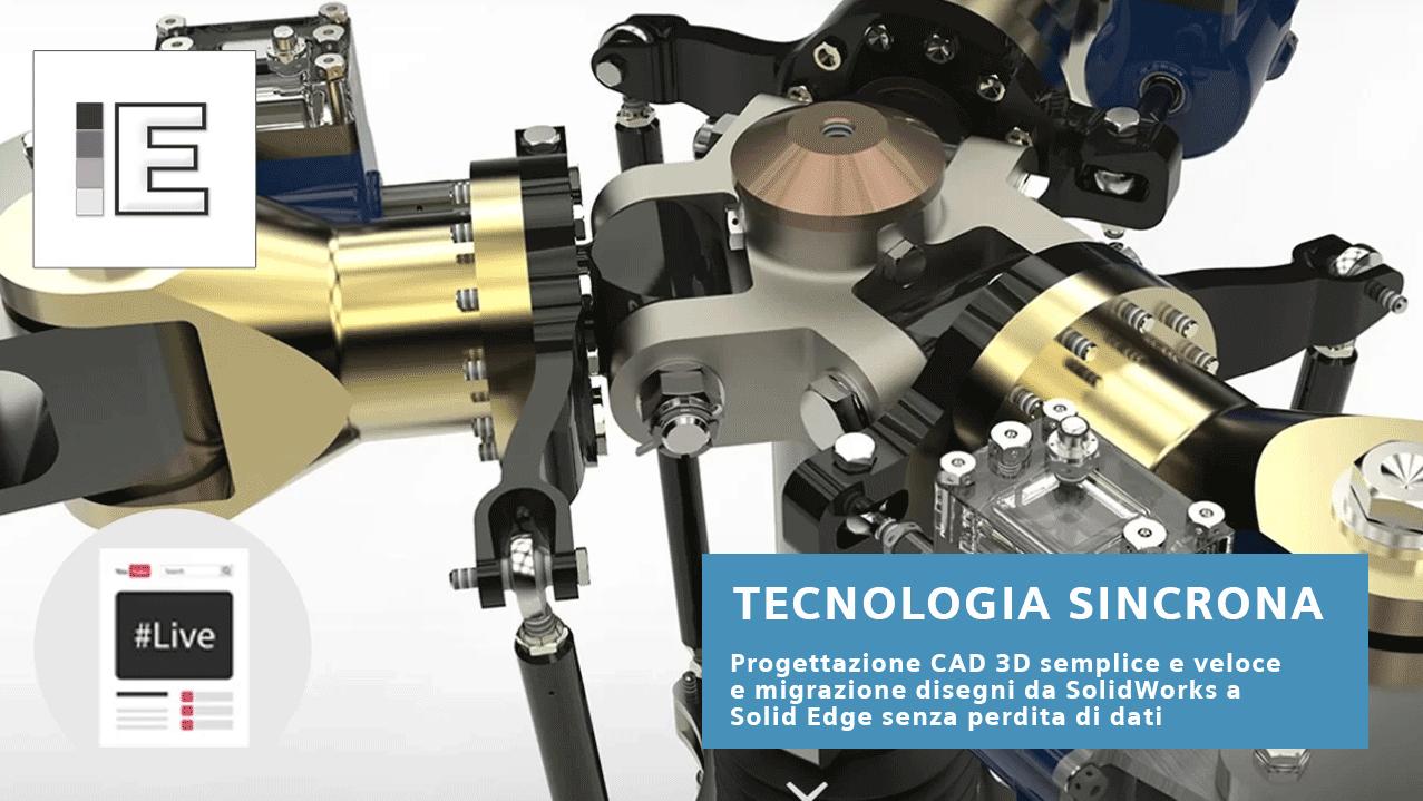 Tecnologia Sincrona focus su SolidWorks