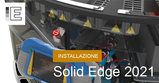 guida installazione solid edge 2021