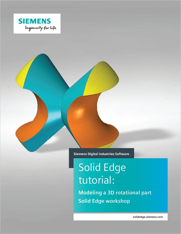 Tutorial – Modellazione di una parte 3D con tecnologia sincrona