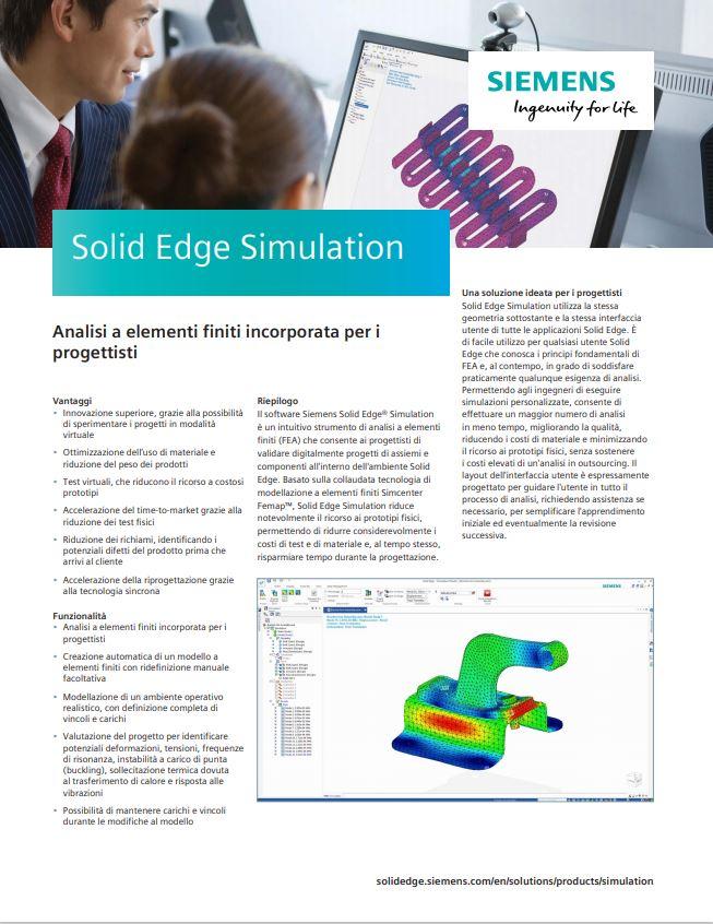 SolidEdge Simulation