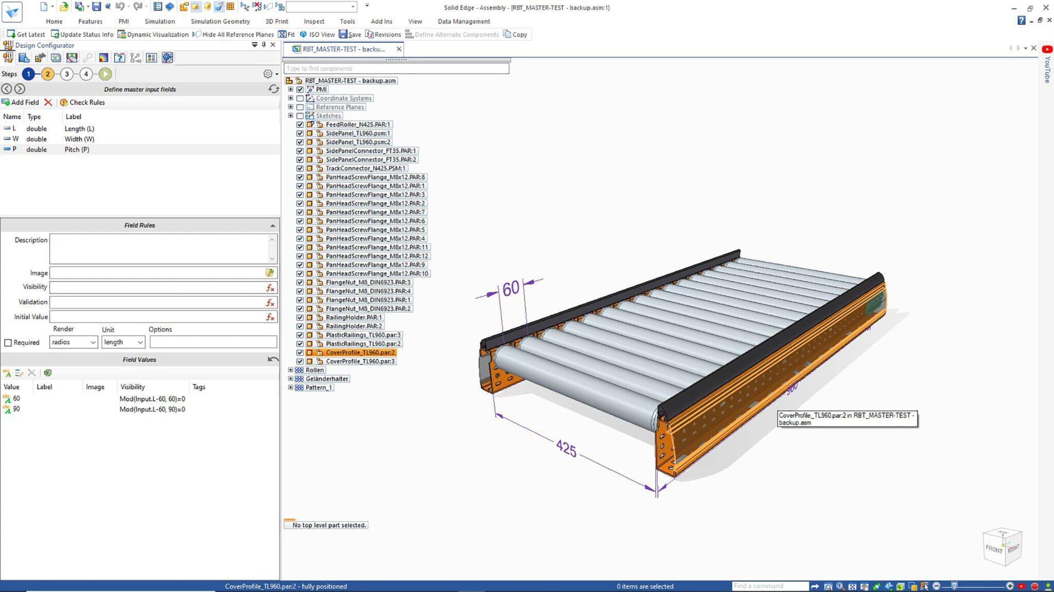 Solid Edge 2022 Design Configurator