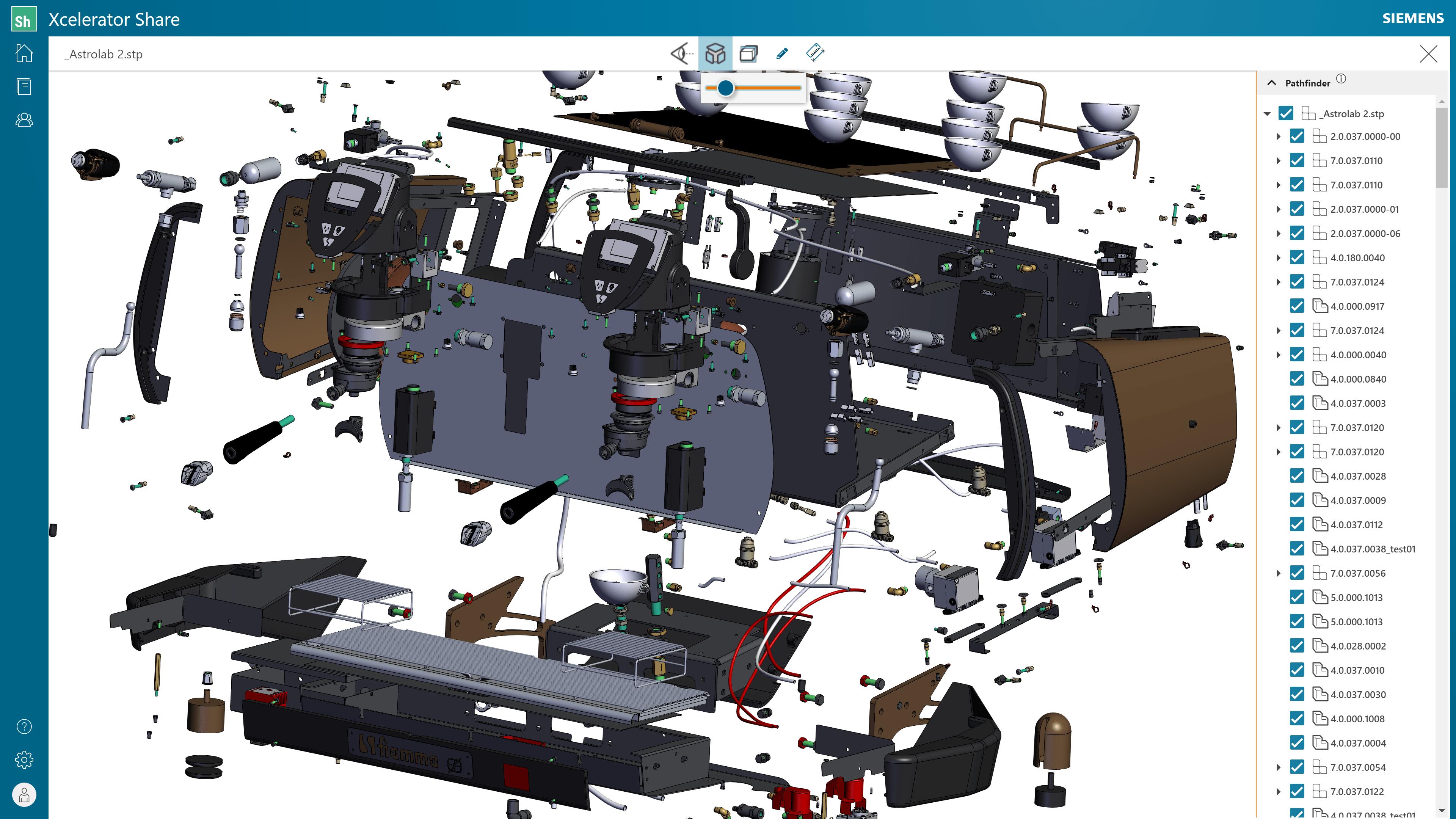 Solid Edge 2022 Xcelerator Share